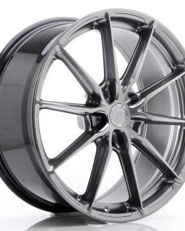 JR Wheels JR37 20×9 ET35-45 5H BLANK Hyper Black