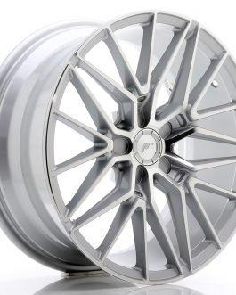 JR Wheels JR38 18×8 ET35-42 5H BLANK Silver Machined Face