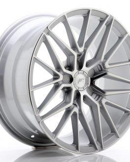 JR Wheels JR38 18×9 ET20-45 5H BLANK Silver Machined Face