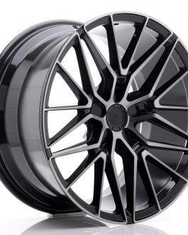 JR Wheels JR38 19×9,5 ET35-45 5H BLANK Black Brushed w/Tinted Face