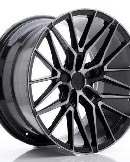 JR Wheels JR38 20×10,5 ET20-45 5H BLANK Black Brushed w/Tinted Face