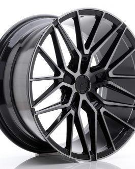 JR Wheels JR38 20×10 ET20-45 5H BLANK Black Brushed w/Tinted Face