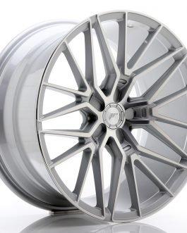 JR Wheels JR38 20×10 ET20-45 5H BLANK Silver Machined Face