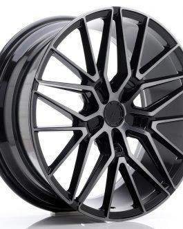JR Wheels JR38 20×8,5 ET20-45 5H BLANK Black Brushed w/Tinted Face