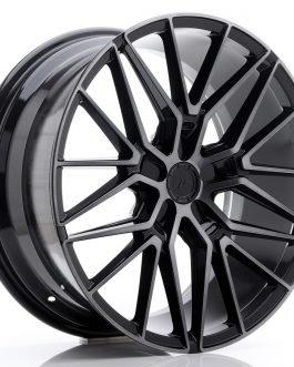 JR Wheels JR38 20×9 ET20-45 5H BLANK Black Brushed w/Tinted Face