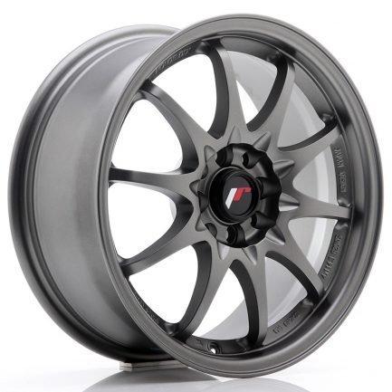 JAPAN RACING JR Wheels JR5 16x7 ET30 4x100/108 Matt Gun Metal 7.00x16