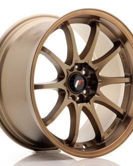 JR Wheels JR5 18×9,5 ET22 5×100/114,3 Dark Anodized Bronze