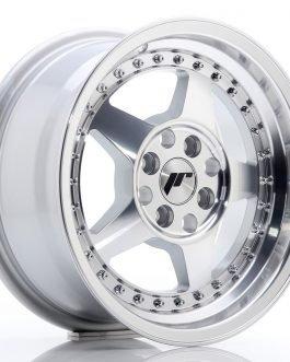 JR Wheels JR6 15×7 ET35 4×100 Silver Machined Face