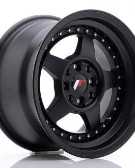 JR Wheels JR6 15×8 ET25 4×100/108 Matt Black