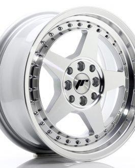 JR Wheels JR6 16×7 ET35 4×100/114 Silver Machined Face