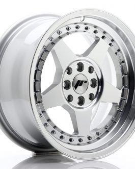 JR Wheels JR6 16×8 ET25 4×100/108 Silver Machined Face