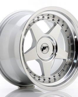 JR Wheels JR6 17×10 ET0-20 BLANK Silver Machined Face