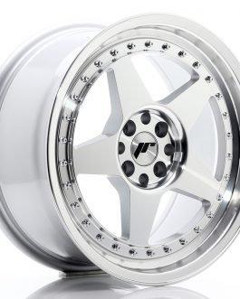 JR Wheels JR6 17×8 ET35 5×108/112 Silver Machined Face