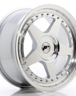 JR Wheels JR6 17×8 ET35 BLANK Silver Machined Face
