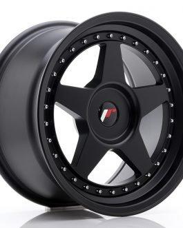 JR Wheels JR6 17×9 ET20-35 BLANK Matt Black