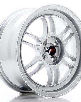 JR Wheels JR7 15×7 ET38 4×100 Silver