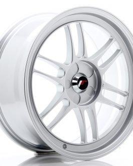 JR Wheels JR7 18×8 ET35 5H BLANK Silver
