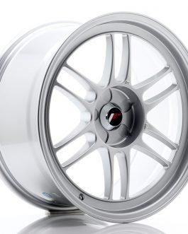 JR Wheels JR7 18×9 ET35 5H BLANK Silver