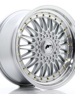 JR Wheels JR9 18×9 ET20-40 BLANK Silver w/Machined Lip