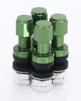 Set of Aluminum air valves JR v2 – GREEN