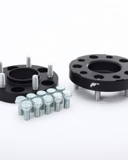 JRWA1 PCD Converter 25mm 5×112->5×130 66,6 71,6 BK