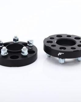 JRWA3 Adapters 25mm 5×114 66,1 66,1 Black