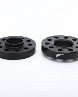 JRWS2 Spacers 10mm 3×112 57,1 57,1 Black