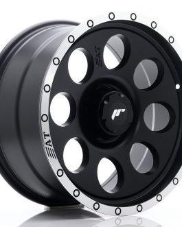 JR Wheels JRX4 18×9 ET0-20 6H BLANK Matt Black w/Machined Lip