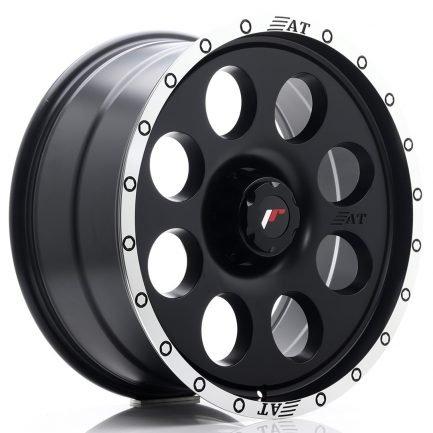 JAPAN RACING JR Wheels JRX4 20x9 ET0-25 6H BLANK Matt Black w/Machined Lip 9.00x20
