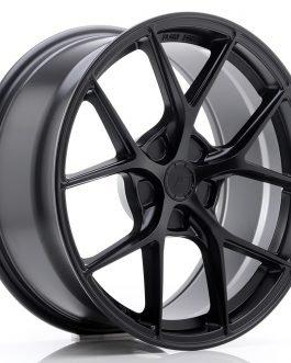 JR Wheels SL01 18×8 ET20-40 5H BLANK Matt Black