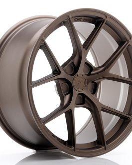 JR Wheels SL01 18×9,5 ET25-38 5H BLANK Matt Bronze
