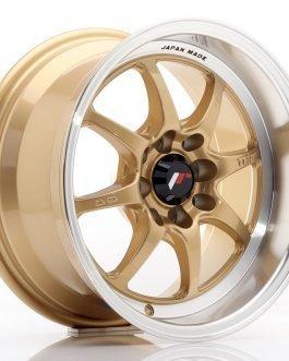 JR Wheels TF2 15×7,5 ET30 4×100/114 Gold