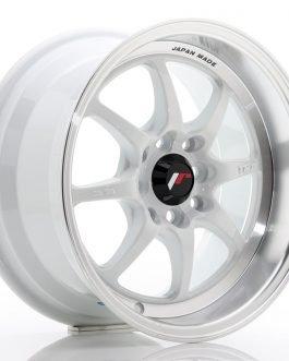 JR Wheels TF2 15×7,5 ET30 4×100/114 White