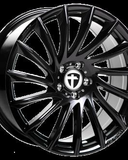 Tomason TN16 black painted 8.5×19 ET: 40 – 5×114.3