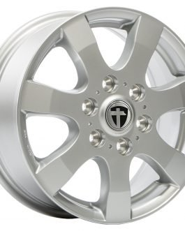 Tomason TN3F Silver painted 6.5×16 ET: 62 – 6×130