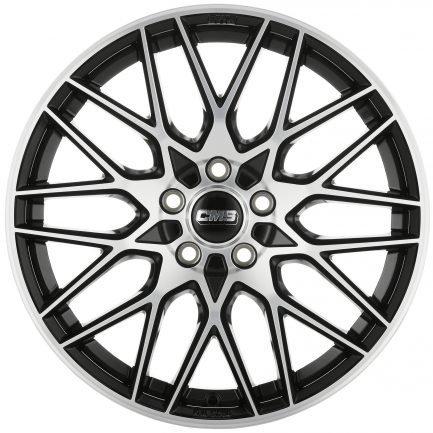 CMS C25 Diamond Black 8x19 ET: 50 - 5x112