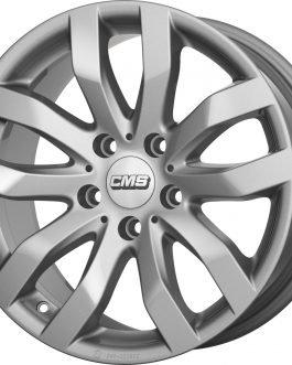 CMS C22 Racing Silver 7.5×17 ET: 51 – 5×112