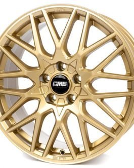 CMS C25 Complete GOLD Gloss 7×17 ET: 40 – 5×112