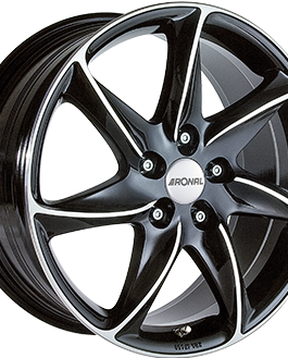 Ronal R51 Gloss Black / Polished 7.0×16 ET: 40 – 5×114