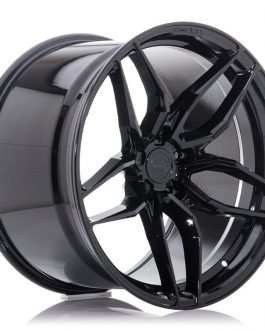 Concaver CVR3 19×8 ET20-40 BLANK Platinum Black