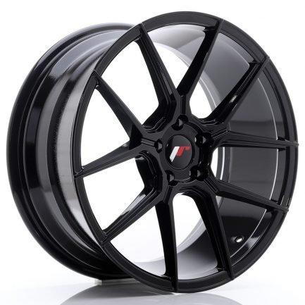 JAPAN RACING JR Wheels JR30 19x8,5 ET40 5x112 Glossy Black 8.50x19