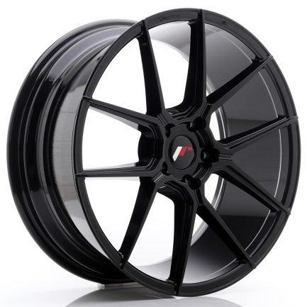 JAPAN RACING JR Wheels JR30 20x8,5 ET40 5x112 Glossy Black 8.50x20