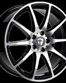 Tomason TN1 black polished 6.5×16 ET: 46 – 5×112