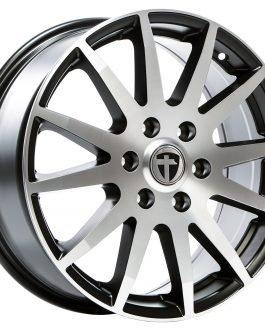 Tomason TN1F Black matt polished 7.5×18 ET: 54 – 6×130