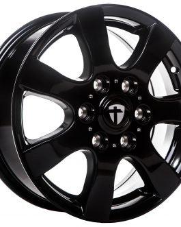 Tomason TN3F black painted 6.5×16 ET: 62 – 6×130