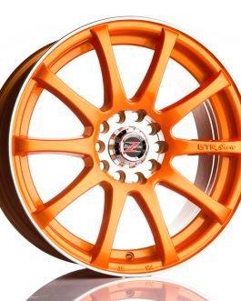 Barzetta GTR Raceorange 7×17 ET: 40 – 5×108