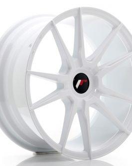 JR Wheels JR21 18×8,5 ET20-40 Blank White