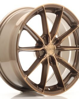 JR Wheels JR37 18×8 ET20-45 5H BLANK Platinum Bronze