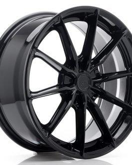 JR Wheels JR37 18×8 ET20-45 5H BLANK Glossy Black
