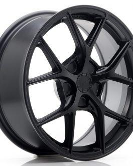 JR Wheels SL01 17×7 ET20-40 5H BLANK Matt Black
